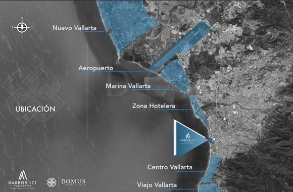 Map location - Harbor Vallarta 171