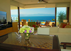 Condominium Tabachin 202 in Punta Esmeralda with views to the bay from every room