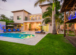 Luxury Villa St. Tropez, located in front of a canal of Nuevo Vallarta