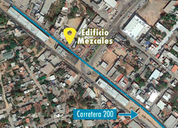 Commercial building with excellent location over highway 200 in Mezcales, Bahia de Banderas