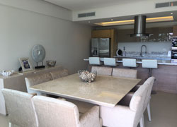 Condo Peninsula Nuevo Vallarta 3O: Beachfront location