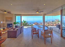 Condo Palma 201, Punta Esmeralda: Three bedrooms and magnificent ocean views