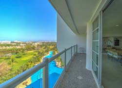 Seibal 903, beautiful condo with great panoramic view of Vidanta Golf Course and Resort complex.