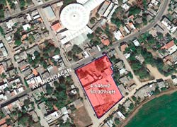 Lot in San Jose del Valle facing 3 different streets, near Vallarta-Tepic highway