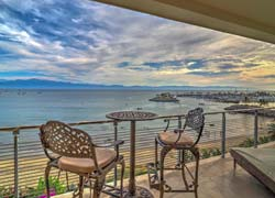 Velmar 4 La Cruz, beachfront penthouse amply furnished, and ready to move in