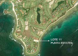 Lot 11 La Punta Estates with excellent location in Punta Mita