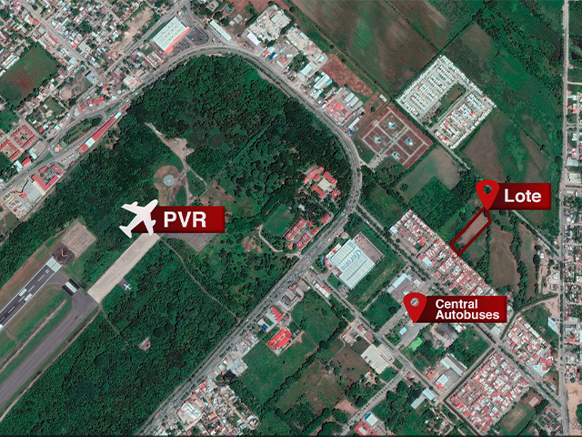 Lote Aeropuerto Puerto Vallarta, excellent investment opportunity for developers