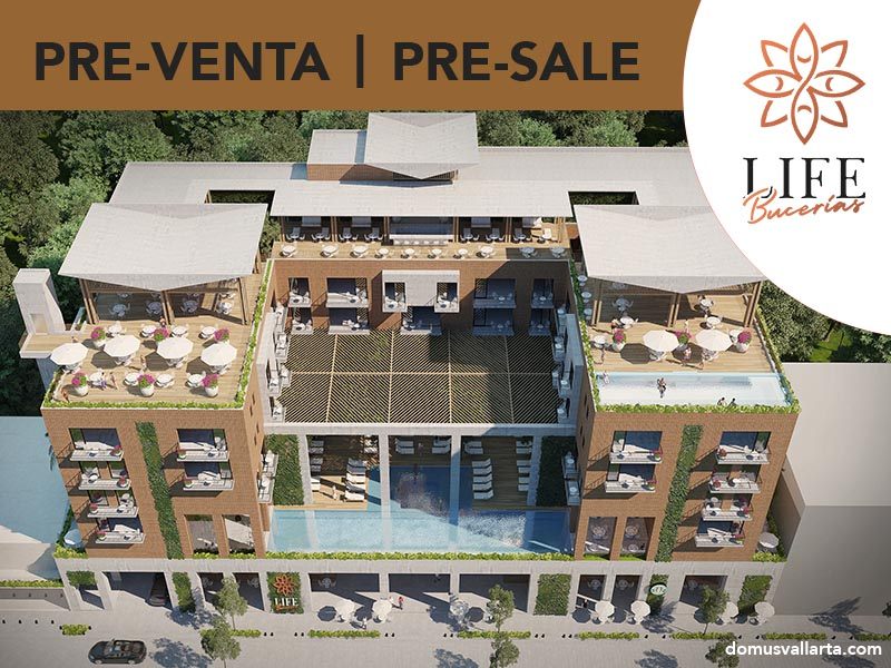 Life Bucerias a new concept in the Golden Zone of Bucerias, perfect for investing