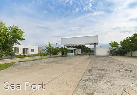 SeaPort Puerto Vallarta, fractional development of real estate lots development close to the airport and bus station