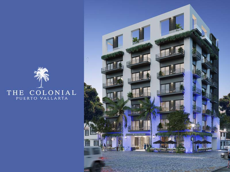 The Colonial Condominiums in Puerto Vallarta