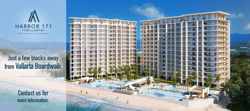 New beachfront development in PV